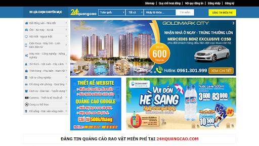 Đăng tin bất động sản hiệu quả 24hquangcao