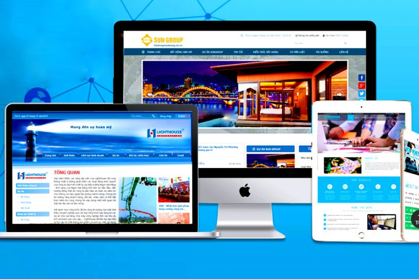 Thiết kế website bán bất động sản
