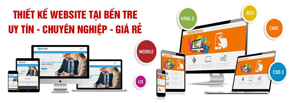Thiết kế website Bến Tre