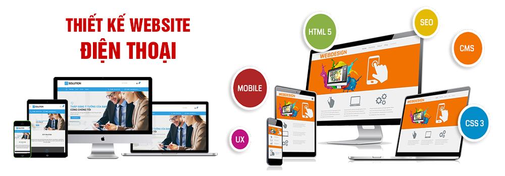 Thiết kế website điện thoại