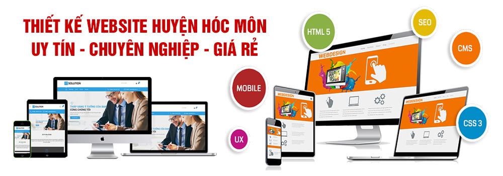 Thiết kế website huyện Hóc Môn