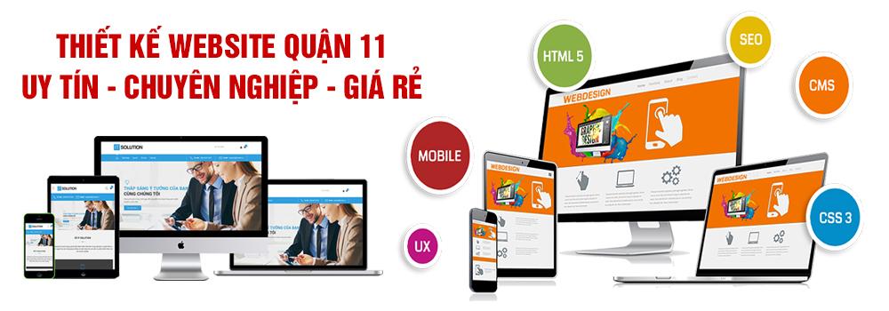 Thiết kế website quận 11