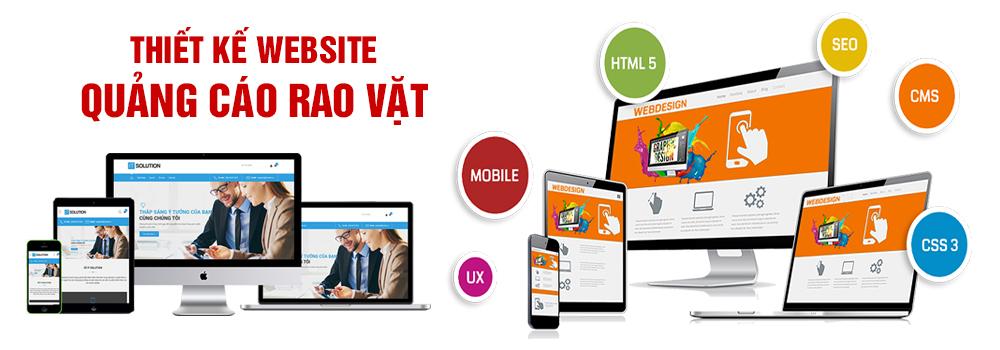 Thiết kế website rao vặt quảng cáo