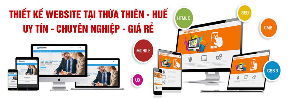 Thiết kế website Thừa Thiên Huế