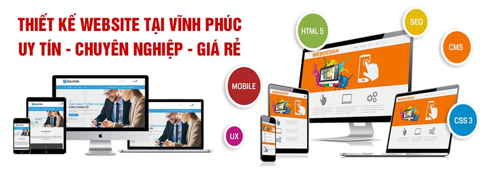Thiết kế website Vĩnh Phúc