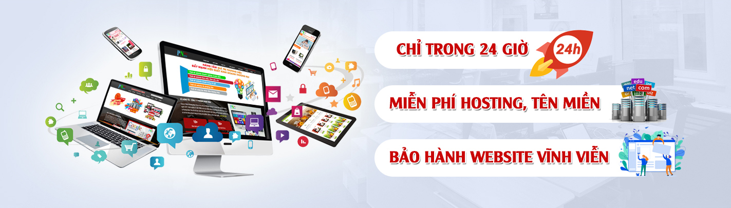 Ưu đãi thiết kế website huyện Bình Chánh