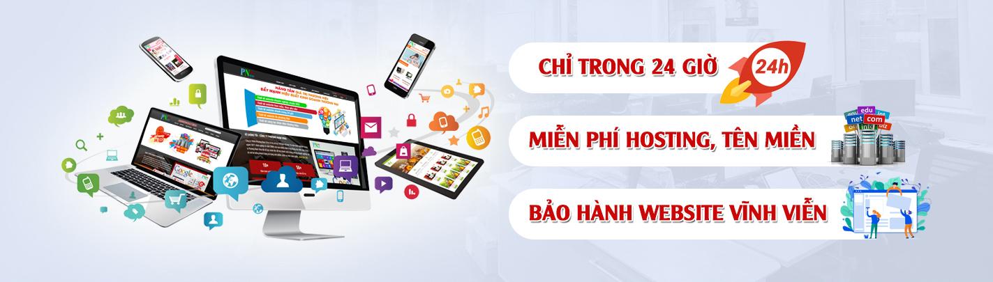 Ưu đãi thiết kế website Ninh Thuận