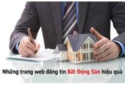Top 9 website đăng tin bán bất động sản hiệu quả