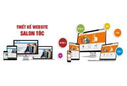 Thiết Kế Website Salon Tóc