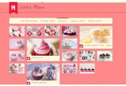 Thiết Kế Website Tiệm Bánh
